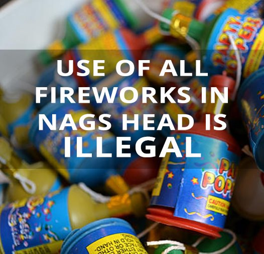 Use of all fireworks in Nags Head is illeagal