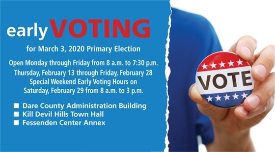 Early Voting Taking Place for March 3, 2020 Election