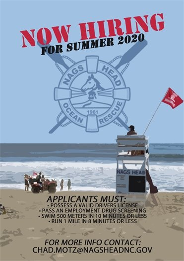 Nags Head Ocean Rescue - Now Hiring for Summer 2020