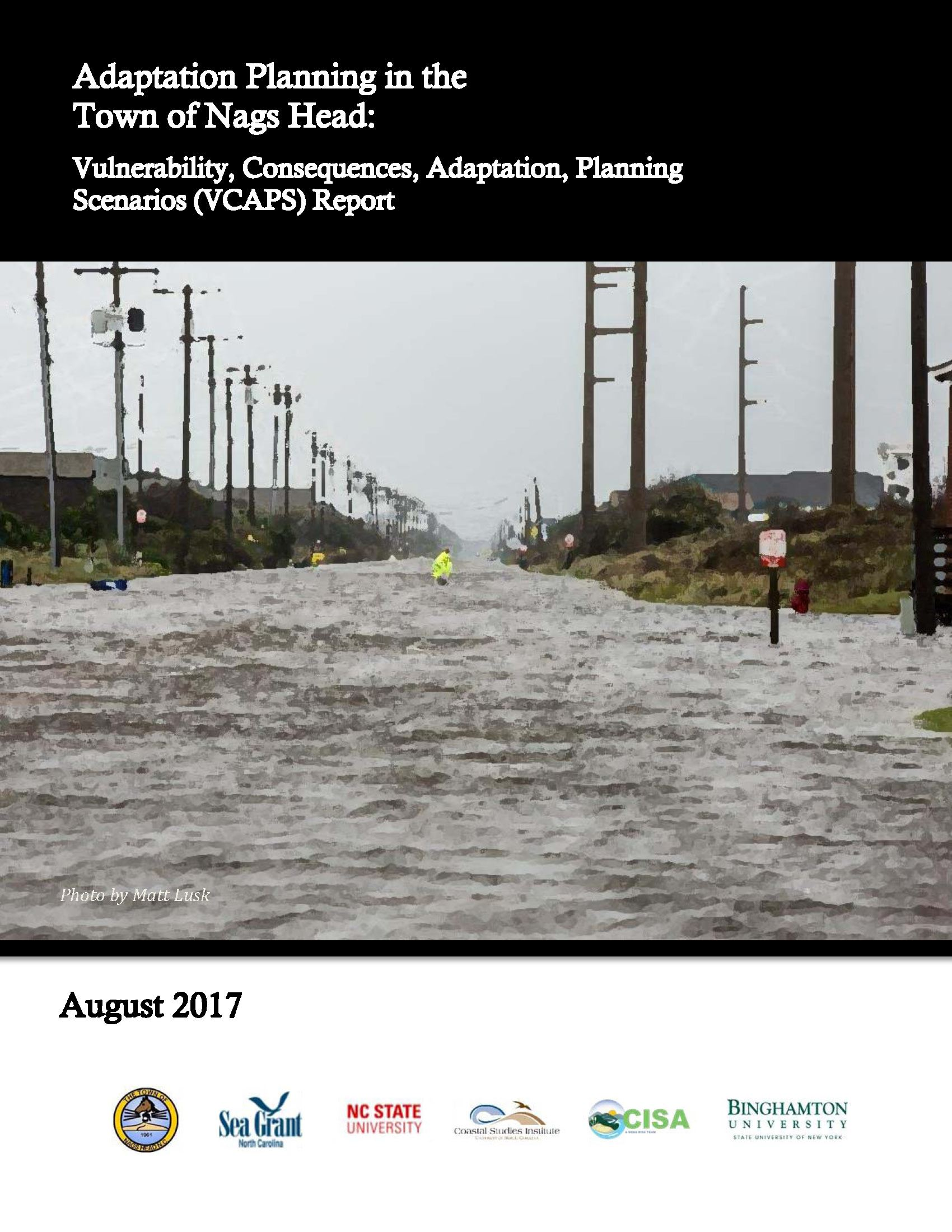Vulnerability, Adaptation, Planning Scenarios (VCAPS) Report