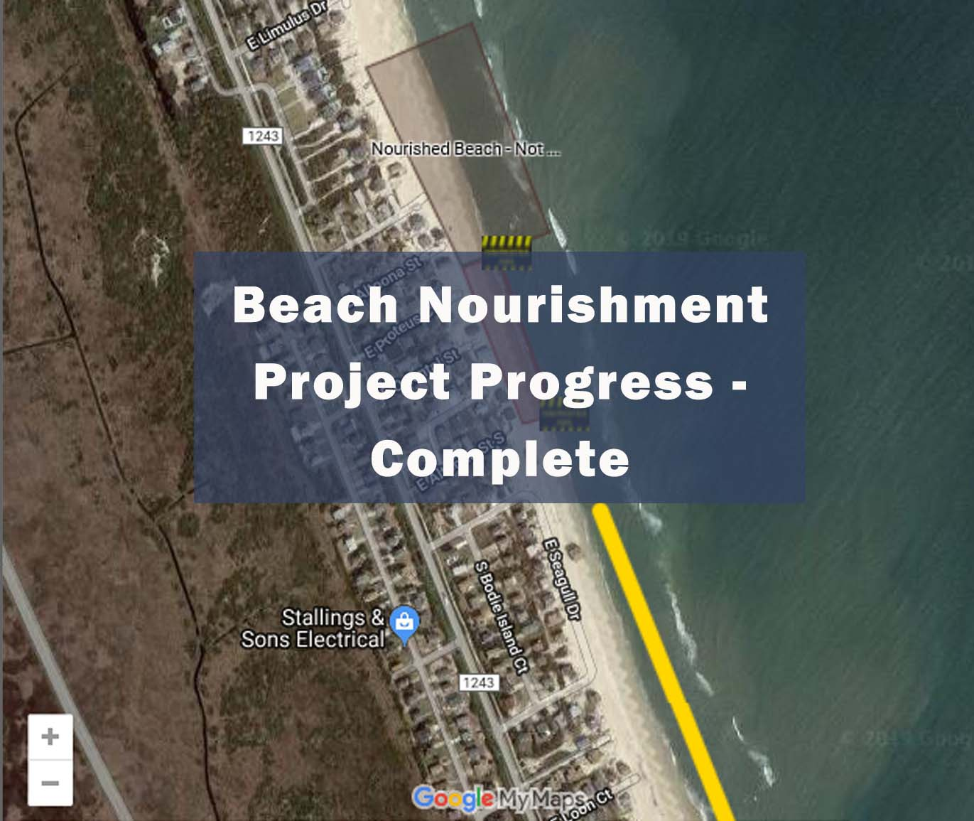Nourishment Progress Map Complete