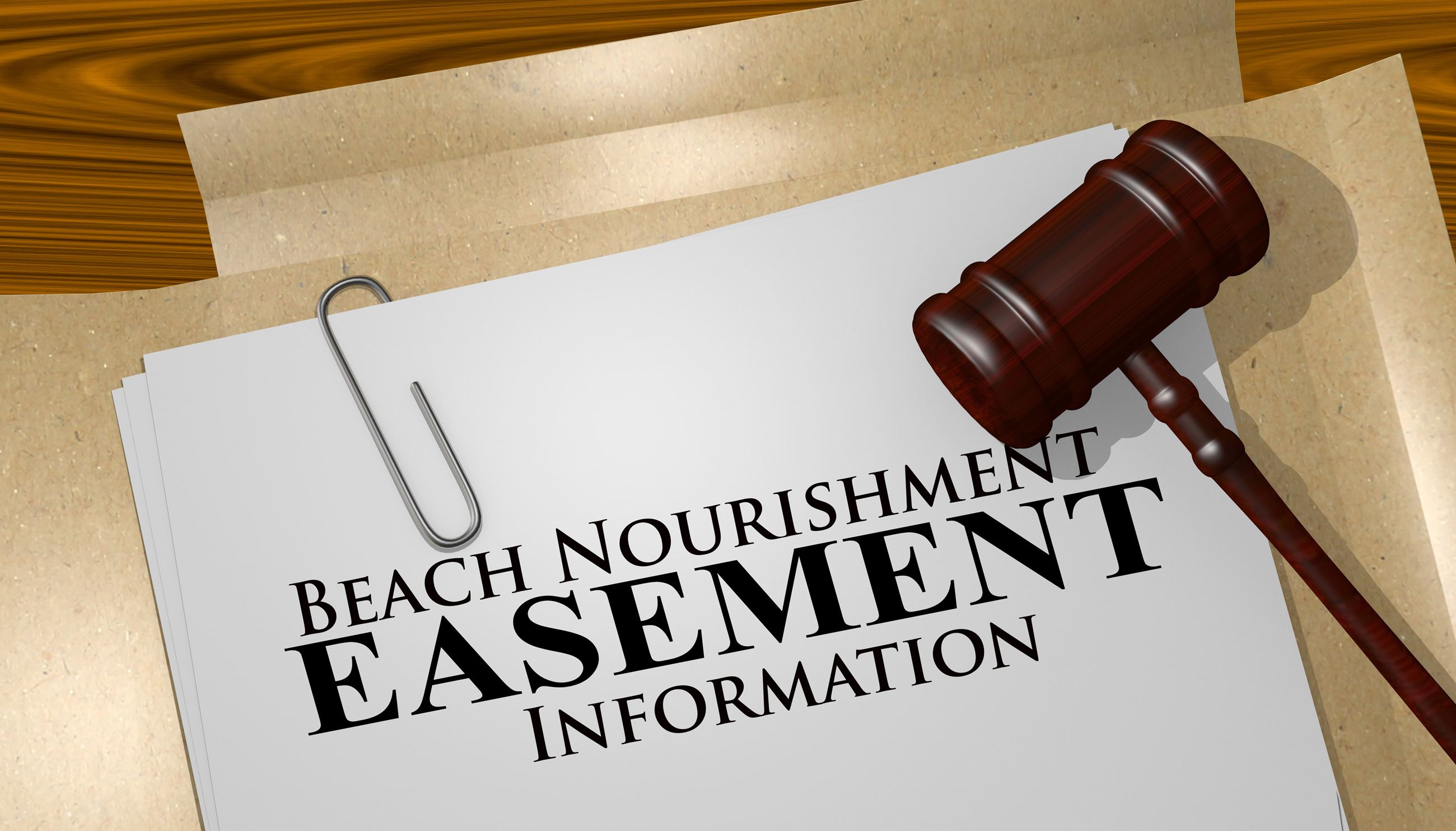 Image Beach Nourishment Easement
