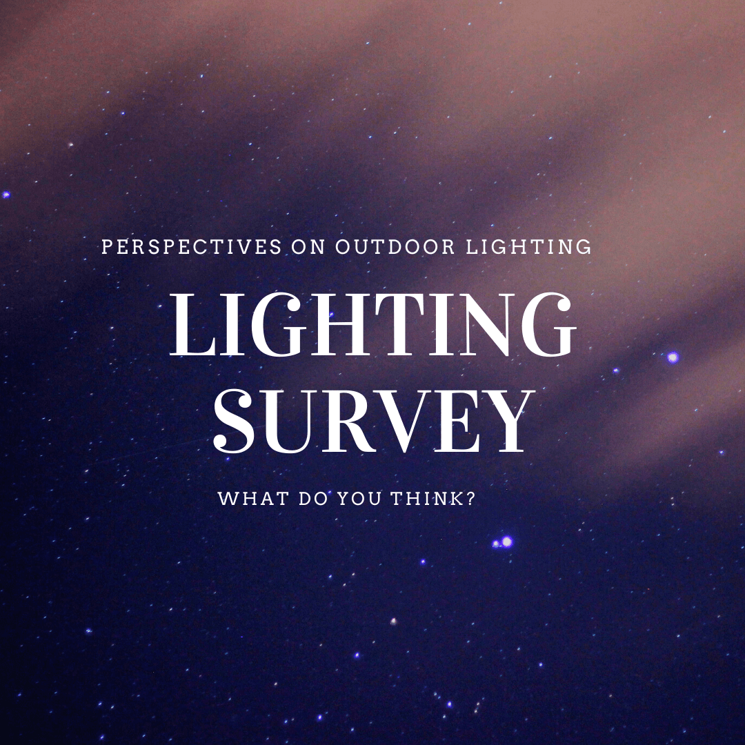 outdoor lighting survey