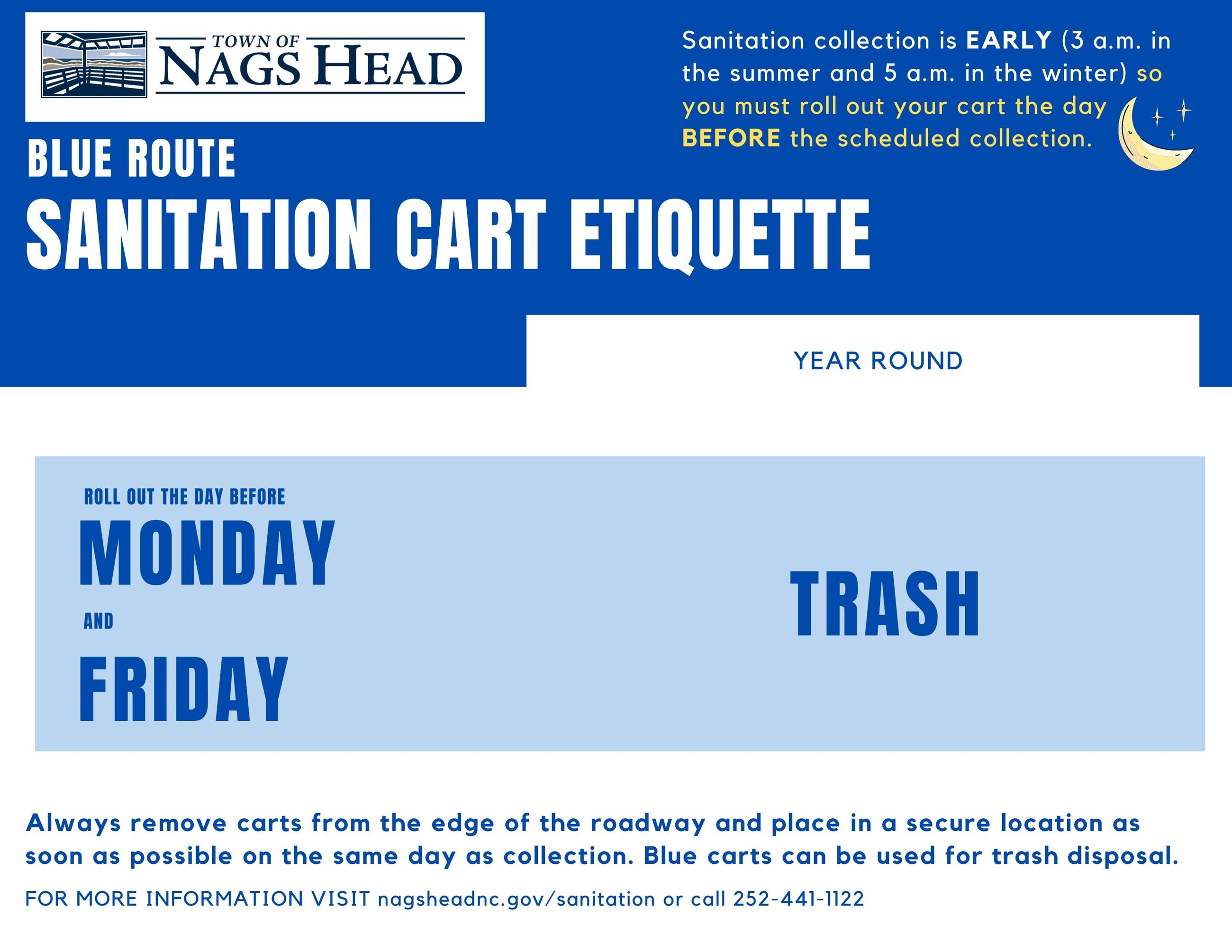 Residential Trash Collection Nags Head Nc