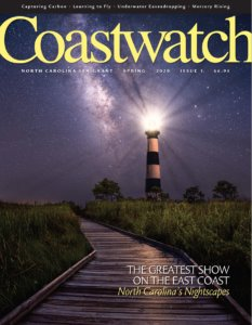 Explore the North Carolina coast with Coastwatch, the flagship publication of North Carolina Sea Grant.Started in the early 1980s as a newsletter, this award-winning publication has evolved into a full-color magazine that delights and educates all who love our coast. Articles highlight the latest in coastal science and technology, experience coastal communities and appreciate coastal heritage — all through compelling articles and captivating photography.