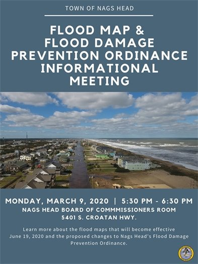Flood Map & Flood Damage Prevention Ordinance Informational Meeting March 9 2020