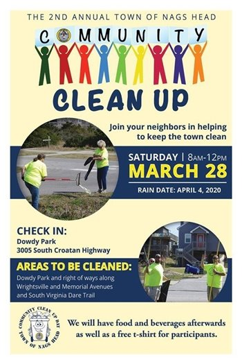 Community Clean Up March 28 2020