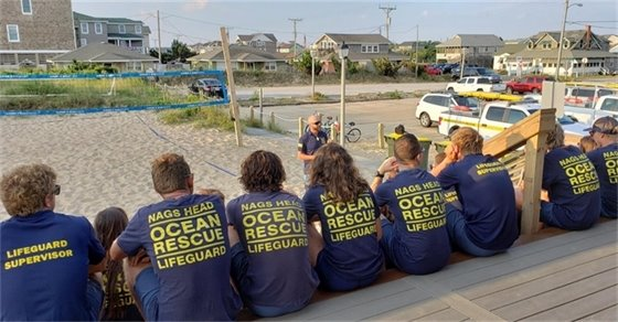 Nags Head's award-winning Ocean Rescue team is hiring for summer 2021.  Visit http://nagsheadnc.gov/204/Employment for more info.