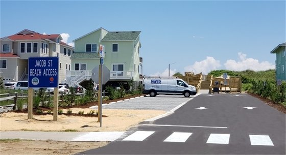 Jacob Street Public Beach Access Improvements Completed