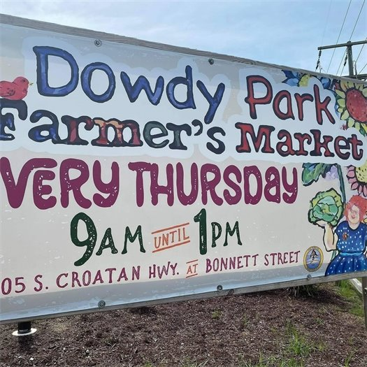 Dowdy Park Farmer's Market 9 am - 1 pm Extended Through September 2020 Every Thursday