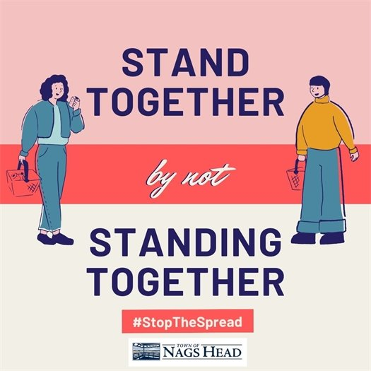 Stand Together by not Standing Together