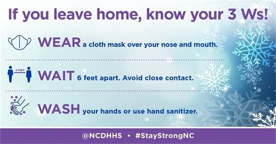 Ways you can slow the spread of COVID-19: • Wear a mask to protect yourself and others and avoid crowds. • Watch out for common COVID-19 symptoms and get tested. • Stay home and isolate if you're sick, except to get medical care.  Remain vigilant and stay informed. Find out more about steps you and your family can take to stay safe: bit.ly/COVID19_NeedToKnow.
