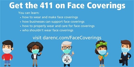 Dare County's Stay Home - Stay Healthy Order requires individuals to wear a mask for cloth face covering in public settings where other social distancing measures are difficult to maintain. Cloth masks are not a substitute for social distancing, proper hygiene or abiding by the stay at home orders.