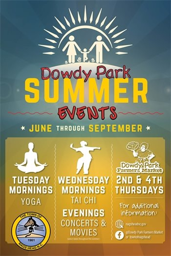 Dowdy Park Summer Events