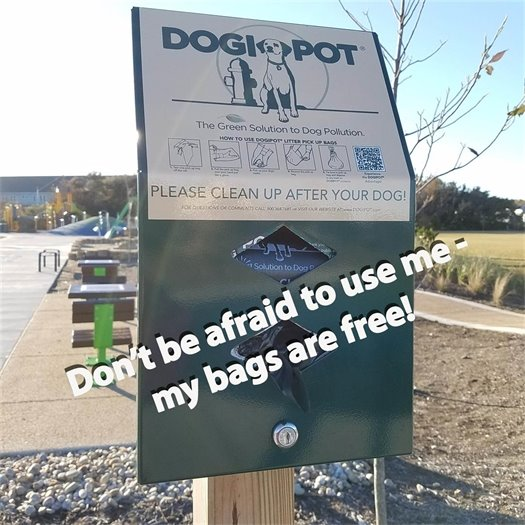 Please clean up after your pet.