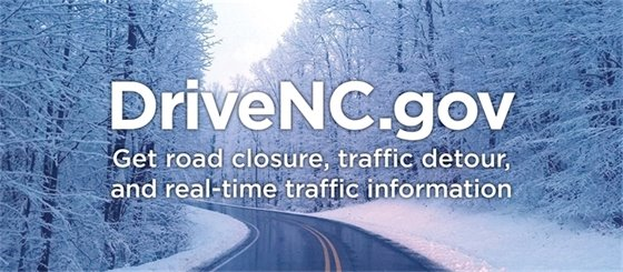 DriveNC.Gov for road closure information