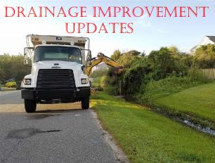 drainage improvement updates
