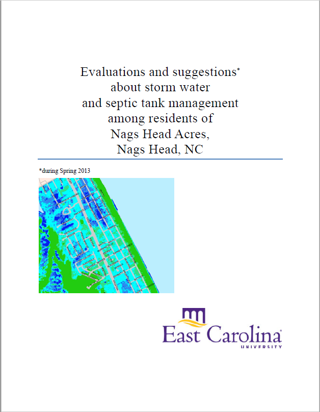 Report on Stormwater Management and Septic Tank Management