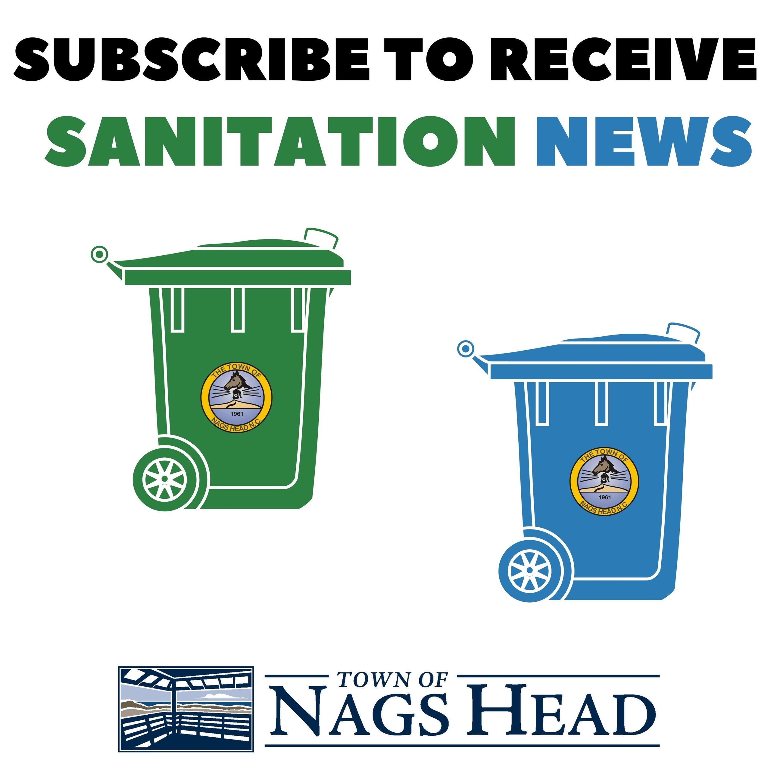 Subscribe to Receive Sanitation News
