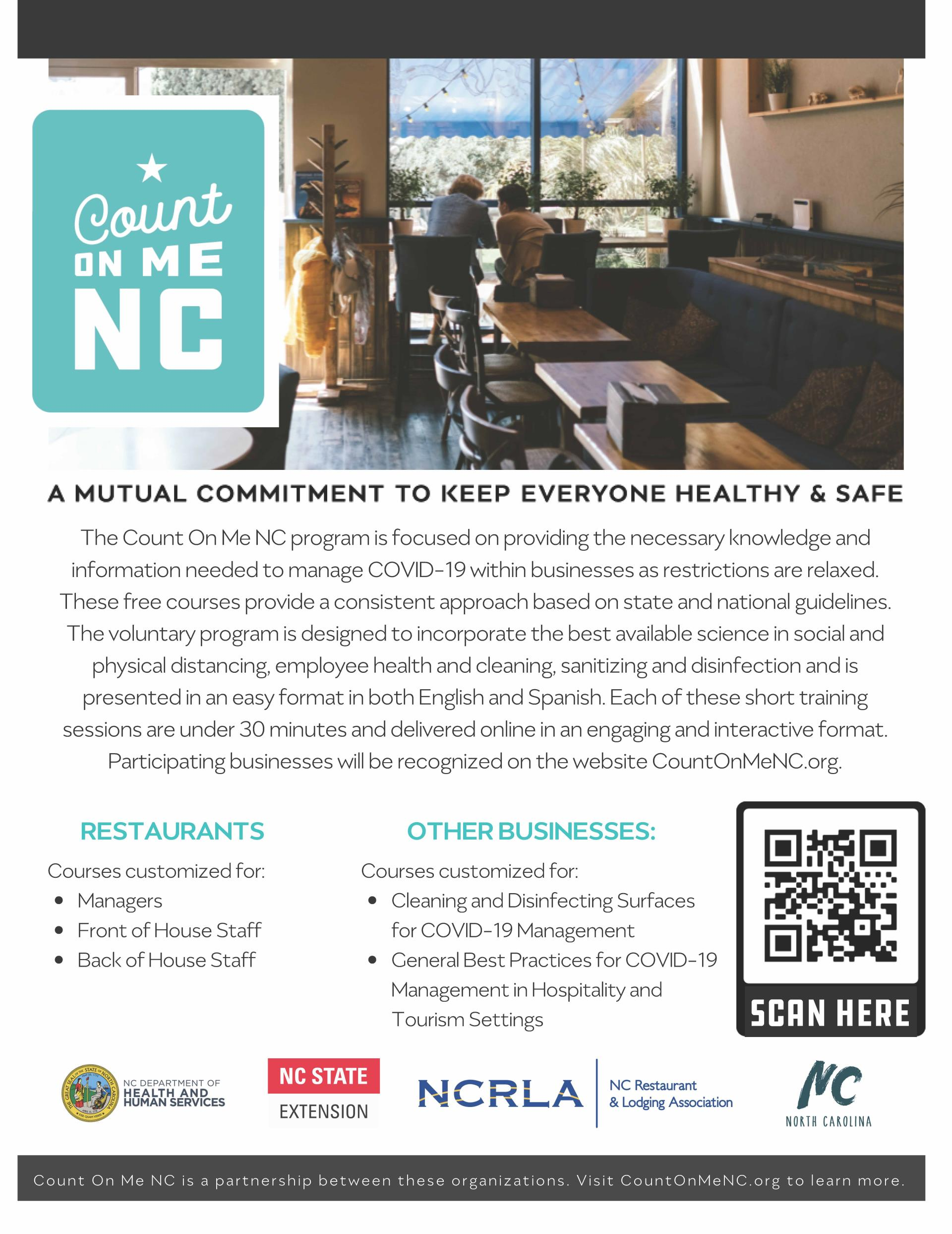 Count on Me NC Program Opens in new window